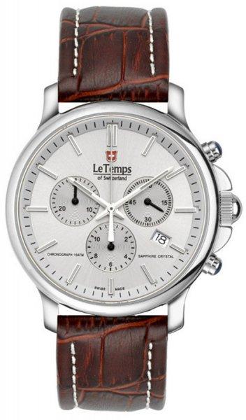 Zegarek Le Temps LT1057.11BL12 - duże 1