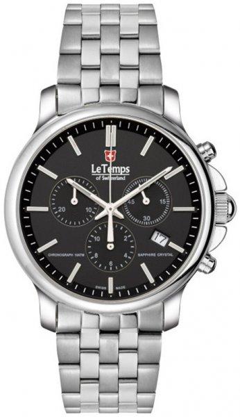 Zegarek Le Temps LT1057.12BS01 - duże 1