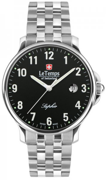 Zegarek Le Temps LT1067.07BS01 - duże 1