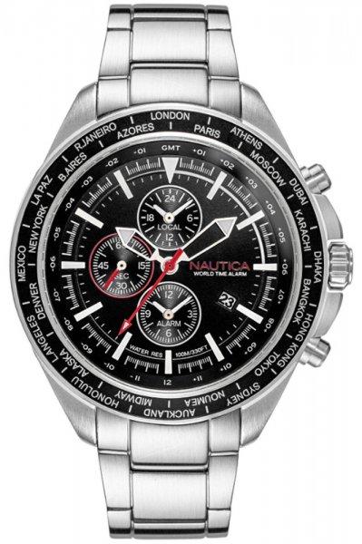 Zegarek męski Nautica bransoleta NAPOBP905 - duże 3