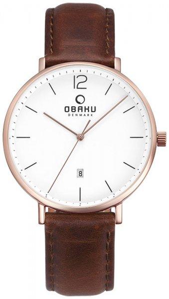 Zegarek Obaku Denmark V181GDVWRN - duże 1