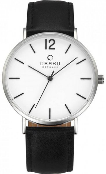 Obaku Denmark V197GXCWRB Slim MARK - BLACK