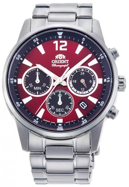 Zegarek męski Orient sports RA-KV0004R10B - duże 1