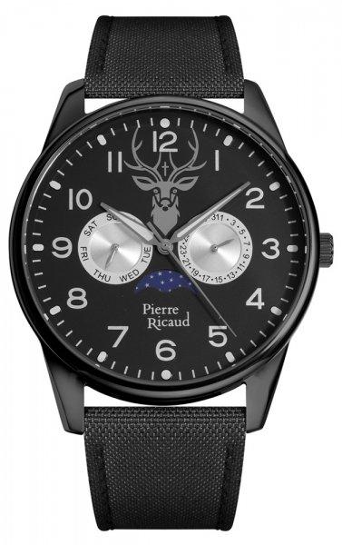 Zegarek męski Pierre Ricaud pasek P60036.B224QF - duże 1