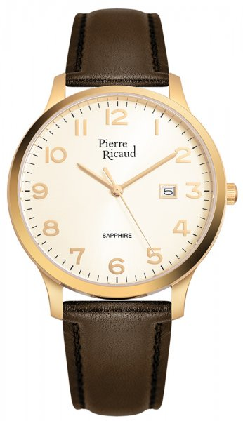 Zegarek męski Pierre Ricaud pasek P91028.1B21Q - duże 1