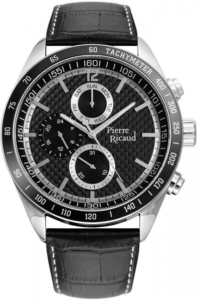 Zegarek męski Pierre Ricaud pasek P97224.Y254QF2 - duże 1