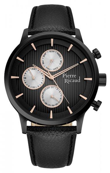 Zegarek męski Pierre Ricaud pasek P97230.B2R4QF - duże 1