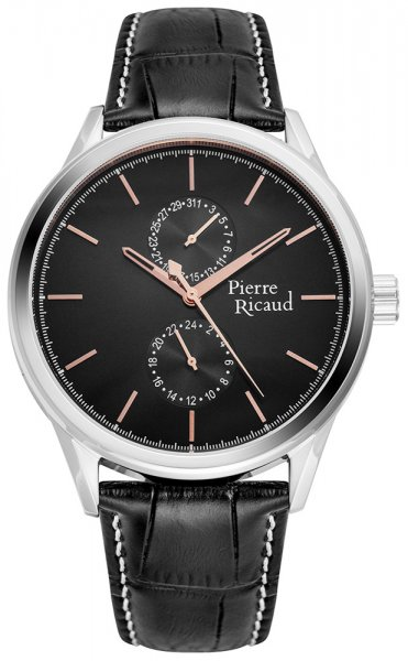 Zegarek męski Pierre Ricaud pasek P97244.52R4QF - duże 1