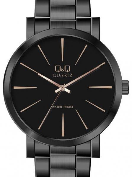 Zegarek męski QQ męskie Q892-412 - duże 1