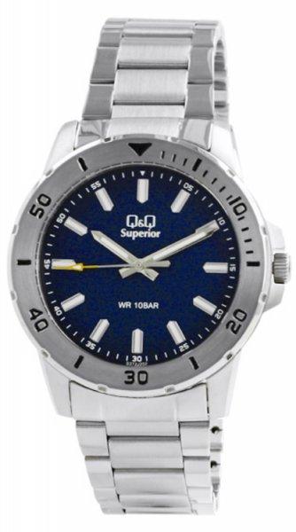 Zegarek męski QQ męskie S372-202 - duże 3