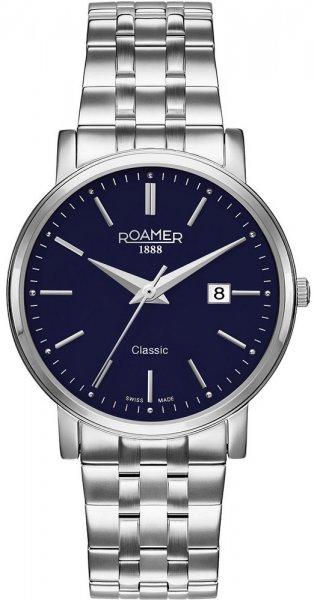 Zegarek męski Roamer classic line 709856 41 45 70 - duże 1