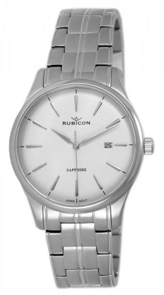 Zegarek męski Rubicon bransoleta RNDE12SISX03BX - duże 1