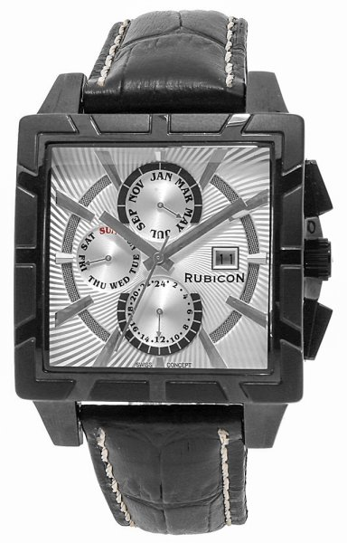 Zegarek męski Rubicon pasek RNCC24BISX - duże 3