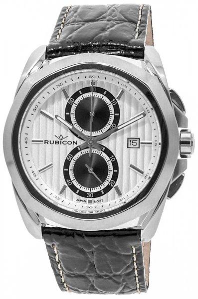 Zegarek męski Rubicon pasek RNCC39SISB - duże 3