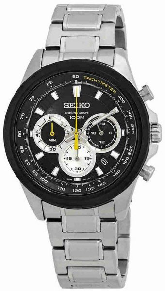 Zegarek Seiko SSB247P1 - duże 1