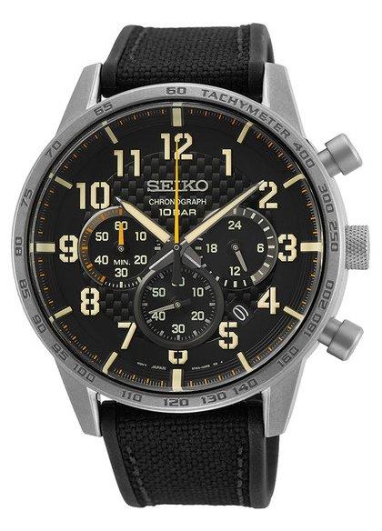 Zegarek Seiko SSB367P1 - duże 1