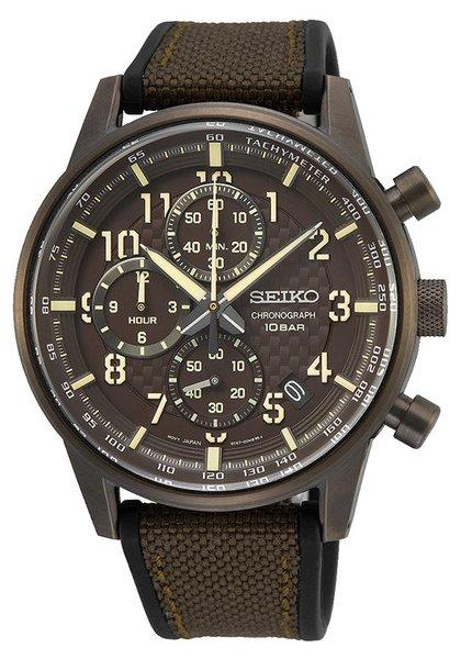 Zegarek Seiko SSB371P1 - duże 1