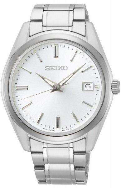 Zegarek męski Seiko classic SUR307P1 - duże 1