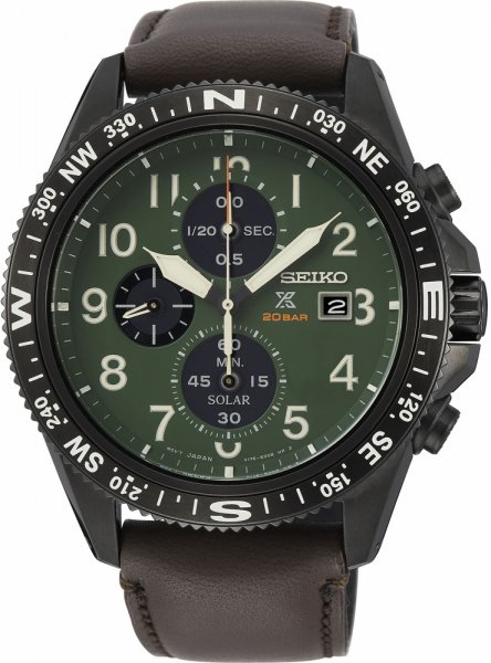 SSC739P1 - zegarek męski - duże 3