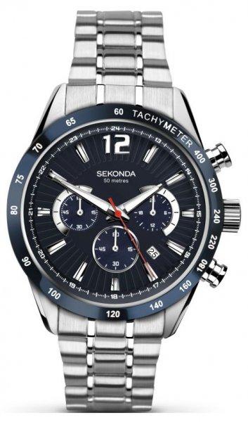 Zegarek męski Sekonda chronograph SEK.1226 - duże 1