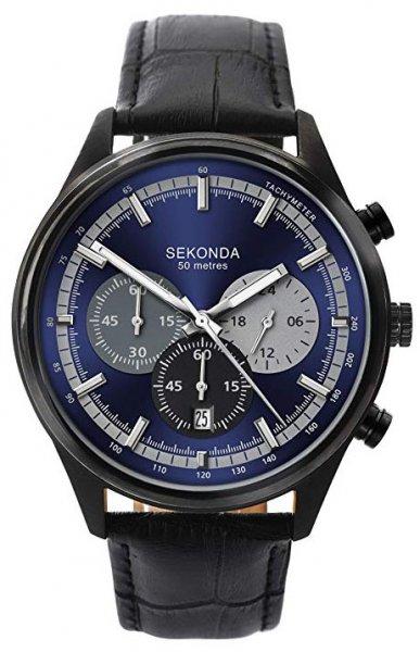 Zegarek męski Sekonda chronograph SEK.1593 - duże 1