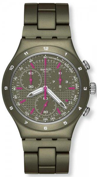 Swatch YCM4002AG Irony Chrono GREEN COAT