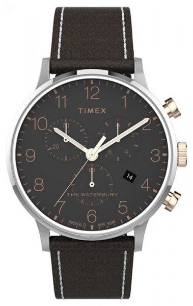 Zegarek męski Timex waterbury TW2T71500 - duże 3