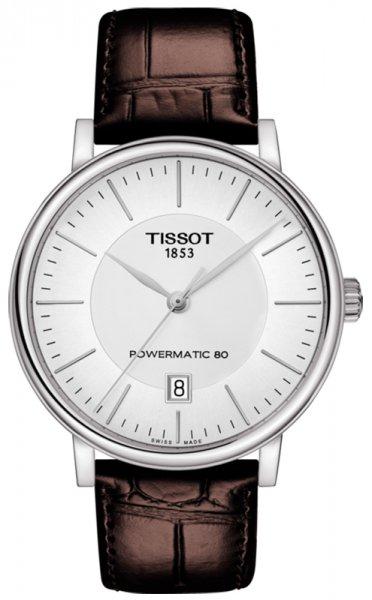 Zegarek Tissot CARSON POWERMATIC 80 - męski  - duże 3