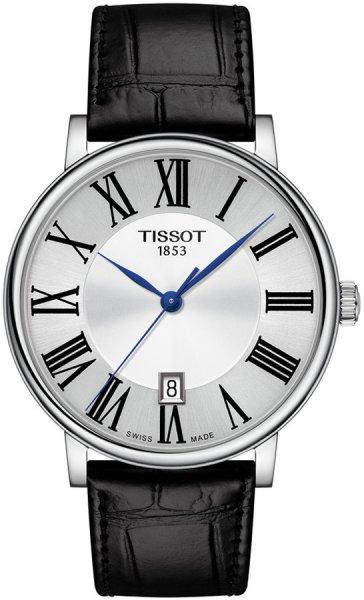 Zegarek męski Tissot carson T122.410.16.033.00 - duże 1