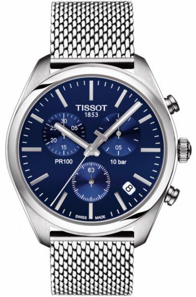 Zegarek męski Tissot pr 100 T101.417.11.041.00 - duże 1