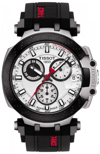 Zegarek męski Tissot t-race T115.417.27.011.00 - duże 3