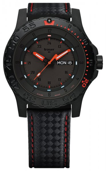 Traser TS-105502 P66 Tactical Mission P66 Red Combat