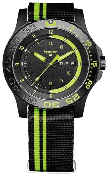 Traser TS-105542 P66 Tactical Mission P66 Green Spirit