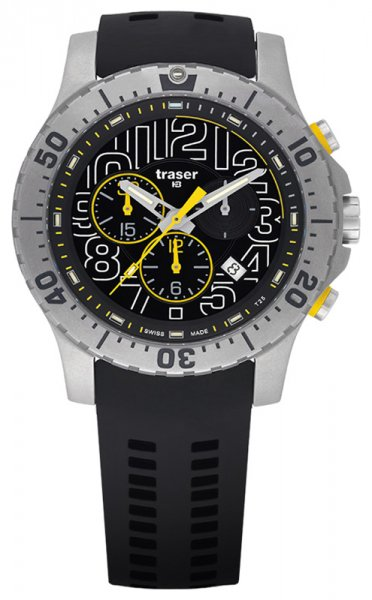 Traser TS-105858 P66 Tactical Mission P66 Elite Chronograph