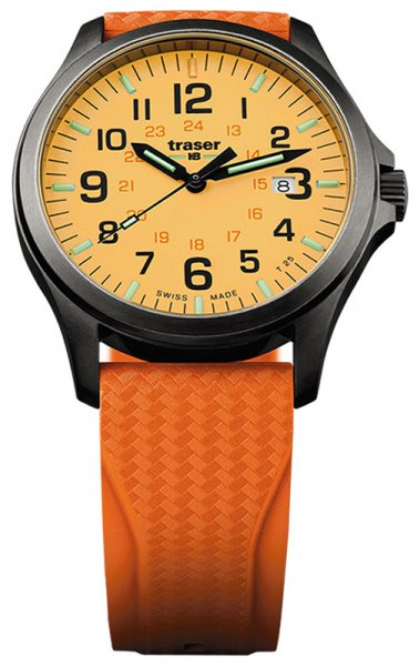 Traser TS-107423 P67 Officer Pro P67 Officer Pro GunMetal Orange