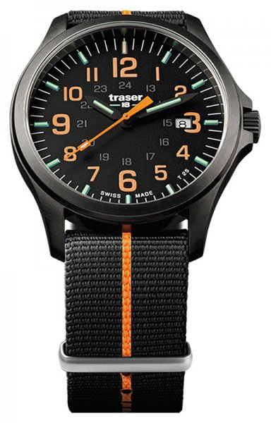 Traser TS-107425 P67 Officer Pro P67 Officer Pro GunMetal Black/Orange