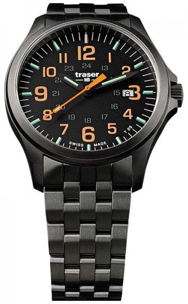 Traser TS-107870 P67 Officer Pro P67 Officer Pro GunMetal Black/Orange