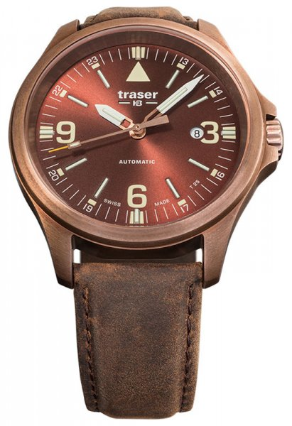 Traser TS-108073 P67 Officer Pro P67 Officer Pro Automatic Bronze Brown