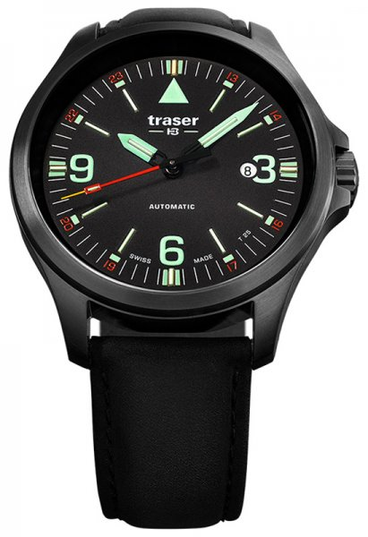 Traser TS-108075 P67 Officer Pro P67 Officer Pro Automatic Black