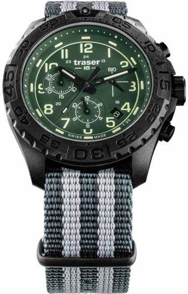 Traser TS-109048 P96 Outdoor Pioneer P96 OdP Evolution Chrono Green