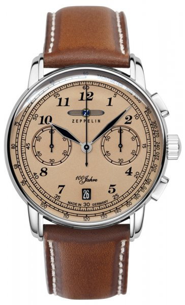 Zegarek Zeppelin 7674-5 - duże 1