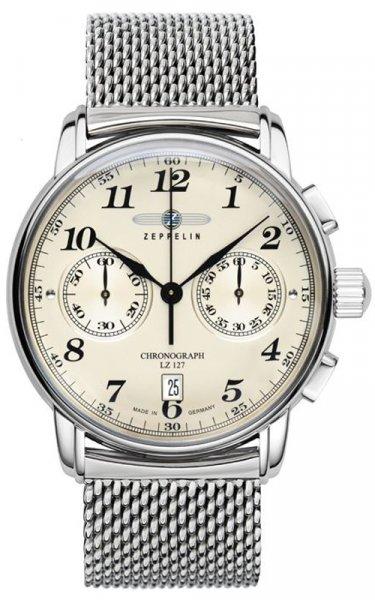 7678M-5 - zegarek męski - duże 3