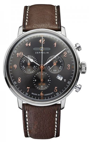 Zegarek Zeppelin 7088-2 - duże 1