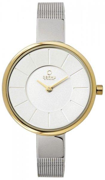 Zegarek damski Obaku Denmark bransoleta V149LAIMC1 - duże 1