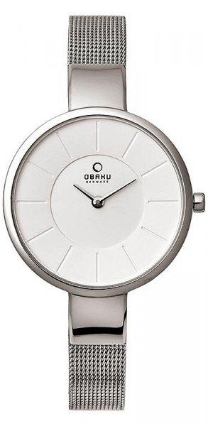Zegarek damski Obaku Denmark bransoleta V149LCIMC1 - duże 1