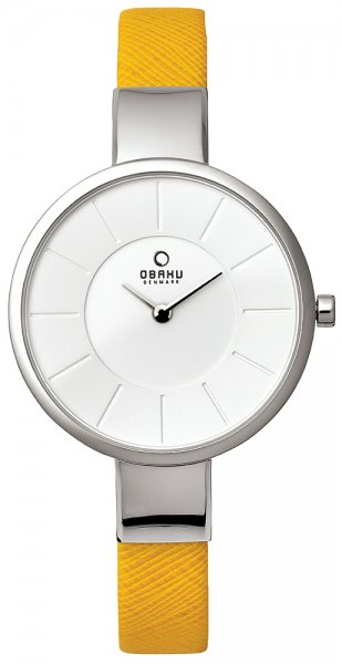 Zegarek damski Obaku Denmark pasek V149LCIRY+PASEK - duże 1