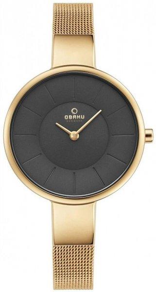 Zegarek damski Obaku Denmark bransoleta V149LGJMG - duże 1