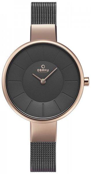Zegarek damski Obaku Denmark bransoleta V149LVJMJ - duże 1