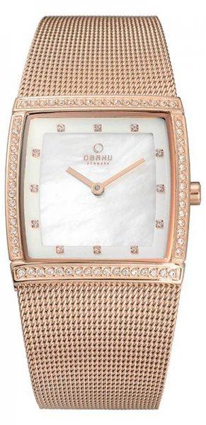 Zegarek damski Obaku Denmark bransoleta V172LEVWMV - duże 3