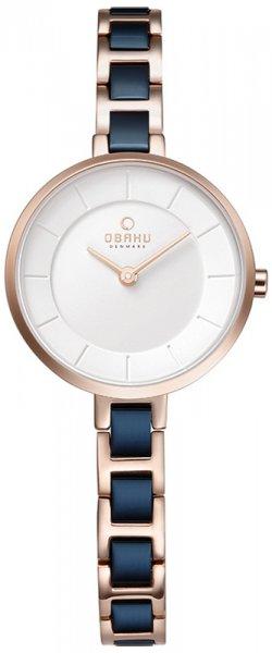 Zegarek damski Obaku Denmark bransoleta V183LXVISL - duże 3
